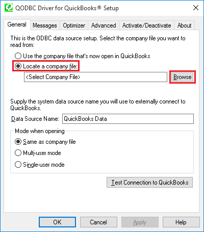 QODBC-Desktop] How to get QuickBooks data displayed in an