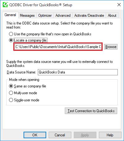 QODBC-Desktop] QB Begin Session Failed  Error = 80040408