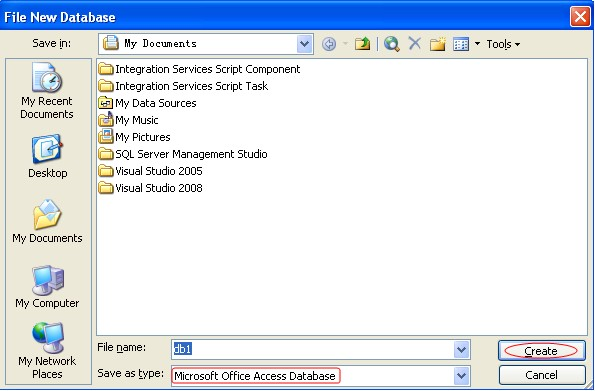 ms access project management database