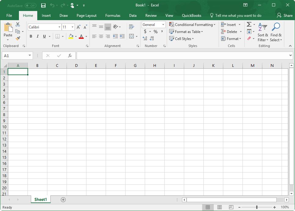 qodbc desktop using quickbooks data with microsoft excel 2016 365