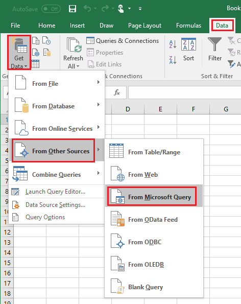 QODBC-Desktop] Using QuickBooks Data with Microsoft Excel 2016 / 365