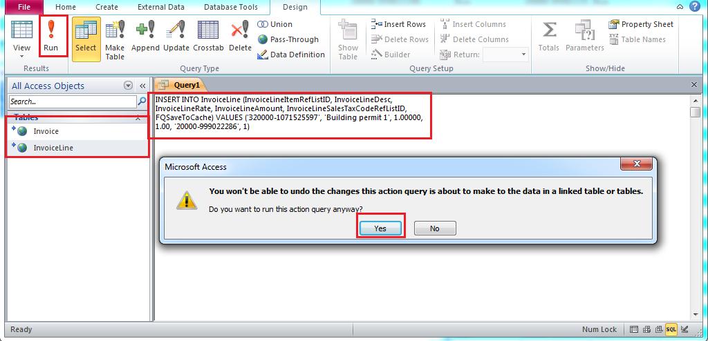 qodbc desktop how to create invoices through ms access using qodbc