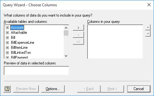QODBC-Online] Using QuickBooks Online Data with Microsoft