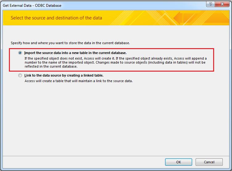 edit access database
