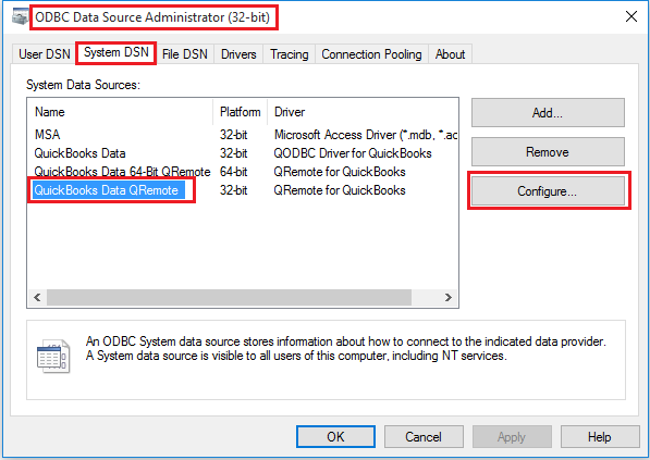 QODBC-Desktop] Troubleshooting - How to turn On/Off
