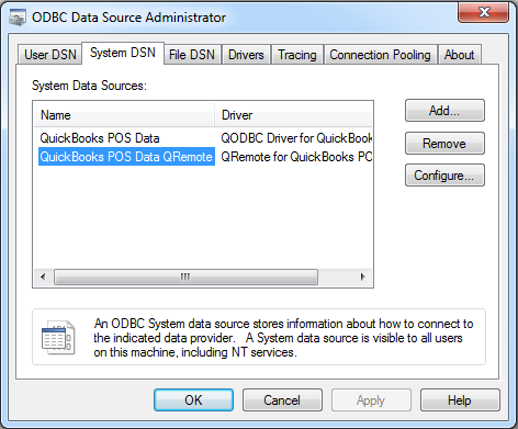 QODBC-POS] Using QuickBooks POS data remotely via QODBC POS