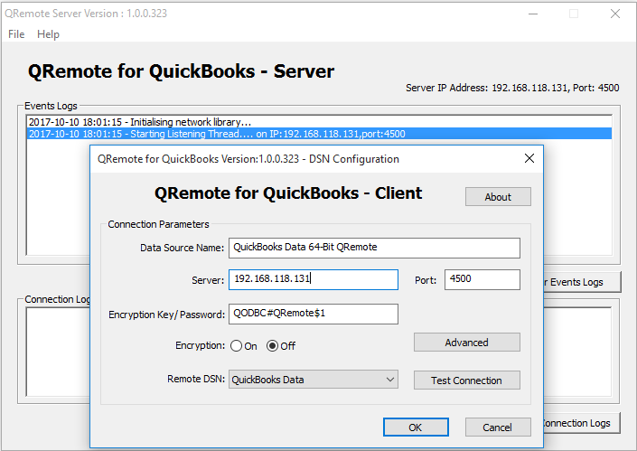 how to create odbc connection for sql server 2016
