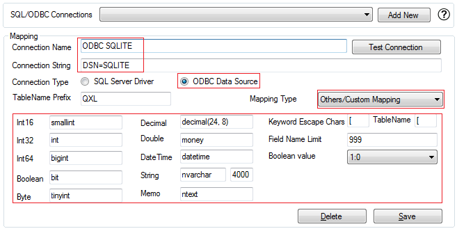 QXL-ALL] How to configure QXL to export to SQLite - Powered