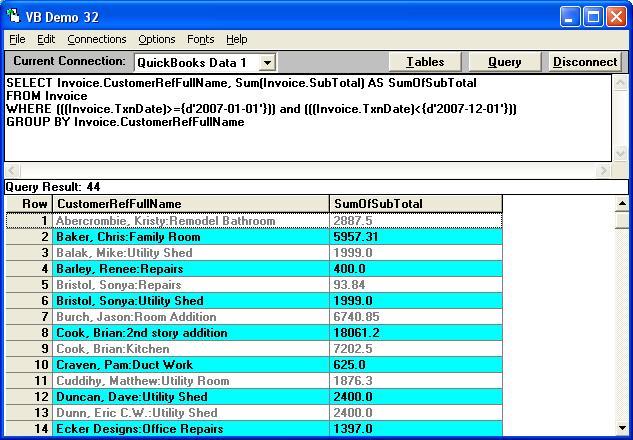 QODBCDesktop Troubleshooting How Do I List The Subtotal Of - Quickbooks invoice subtotal