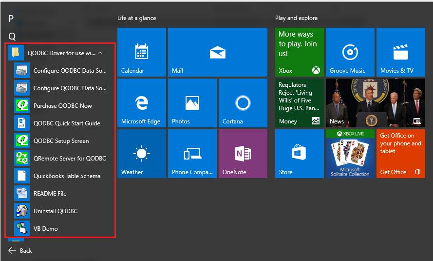 QODBC-Desktop] Installation Steps for Windows 10 - Powered