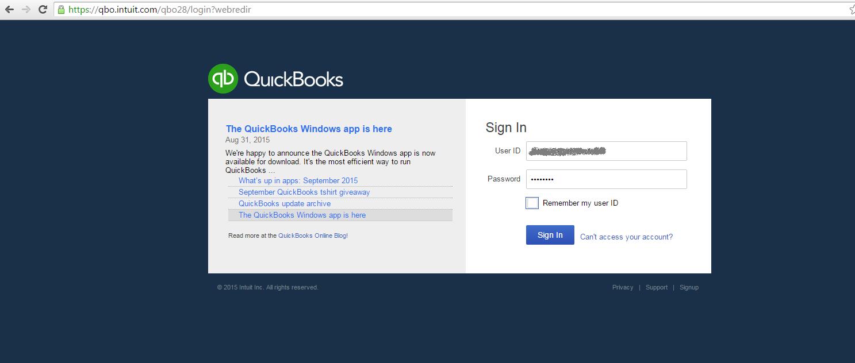 qb online login