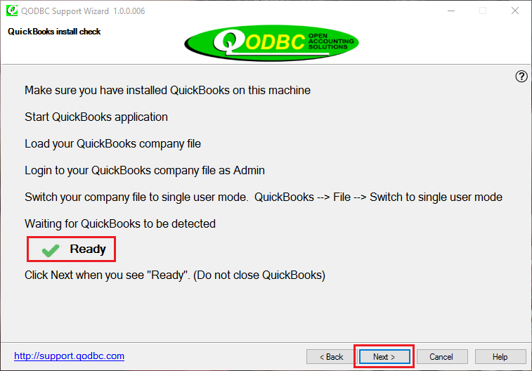 INSTALL QUICKBOOKS ODBC DRIVERS FOR WINDOWS